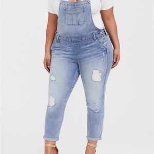 NEW WITH TAGS! Torrid Denim Overalls Size 18